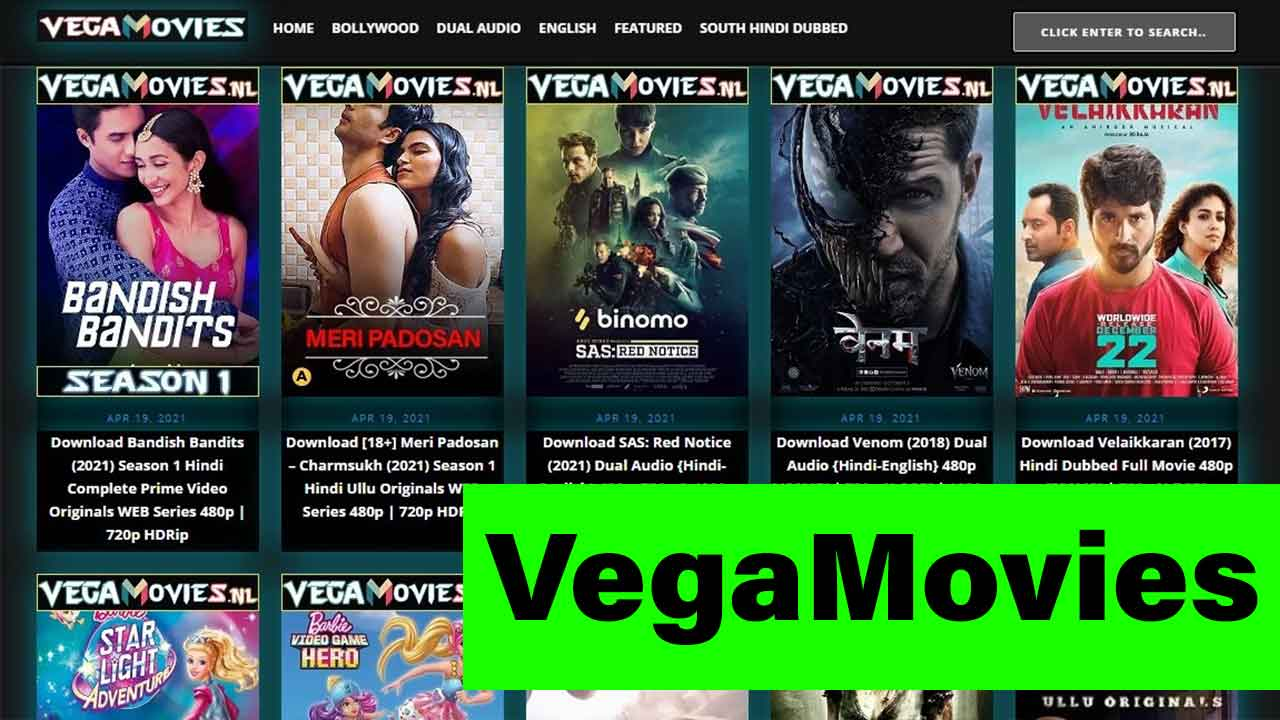 Vegamovies: Vega Movies Download HD, Vega Movie Download, Vega Movies Website, Web Series
